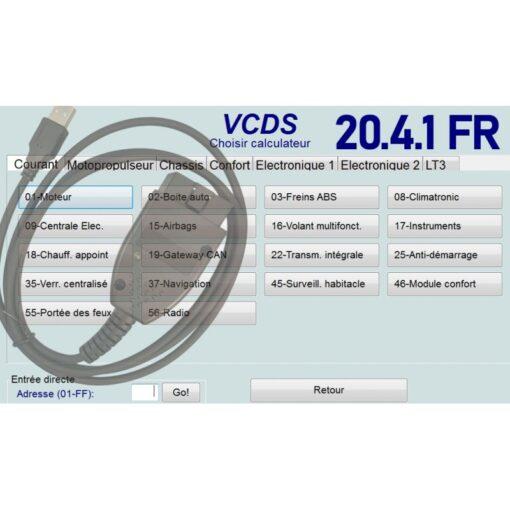 Vag Com VCDS 20.40 en français - Version complète - Activée